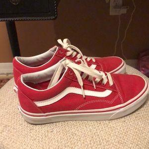 Vans Old Skools (Red)
